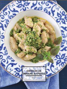 Gnocchi de Inhame ao Pesto - Revista Gastronomia Angeloni — Bela Gil