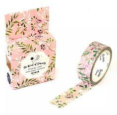 Washi tape Floral delicada cod W00287 Este produto você encontra nas lojas Bala Mental,entre em contato conosco em nossa fan page: