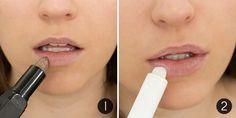 """Как сделать, чтобы помада держалась на губах дольше   1. Чтобы обеспечить стойкость помады, ты должна убедиться, что на твоих губах нет ни одной чешуйки отмершей кожи. Используй скраб для губ, для того, чтобы избавиться от шелушения.  2. Затем нанеси увлажняющий, не жирный бальзам для губ. Восковые текстуры предпочтительнее, чем слишком жирные, которые сразу же заставят цвет помады """"поплыть"""".  3. Нанеси немного тональной основы или консилера на губы, чтобы сократить проявление натурального…"""