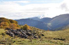 Les montagnes de Saint-Pé, au coeur de la réserve naturelle régionale du Pibeste-Aoulhet...
