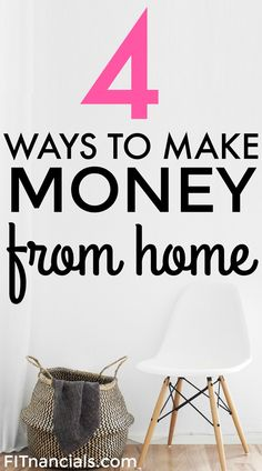 Check out these 4 ways to make money from home. Working from home is so convenient for so many reasons. The most valuable free Entrepreneurial training you will receive this century don't delay click the link Earn Money Online, Make Money Blogging, Online Jobs, Money Tips, Money Saving Tips, Make Money Fast, Make Money From Home, Making Extra Cash, Work From Home Tips