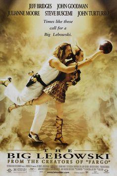 El gran Lebowski (1998) de Joel Coen (http://ultracuerpos.com/fichas/gran-lebowski-1998-hermanos-coen/) #pelicula #poster #movie
