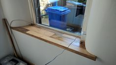 45.) Windowsill staining finished & varnished (twice!).