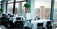 Marco Pierre White's Steakhouse Bar & Grill at the Cube Birmingham. Restaurant. Interiors