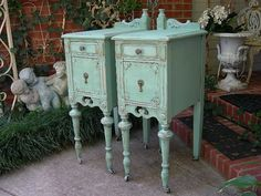 CUSTOM ORDER Your Own Shabby Chic NIGHTSTANDS Antique Distressed Furniture…