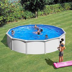 Amazing Elegante Swimmingpools mit extra breitem Handlauf ideal zur freien Aufstellung wodurch l stige Erdarbeiten entfallen