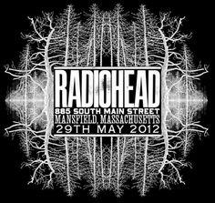 Stanley Donwood Radiohead Artwork, King of Limbs (2012)