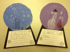 Mrs. Hodge and Her Kindergarten Kids: A cute snow globe craft!