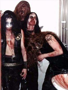 Watain - Swedish black metal band from Uppsala, formed in 1998.