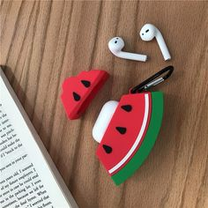 Watermelon Airpods Case RGBIWCO – AirPods Case Cover, Fashion Watermelon Pattern Soft Silicone Protective Cover, Shockproof Case Skin with Carabiner for Airpods Charging Box Accessories Adorable watermelon design plan, … Cute Ipod Cases, Iphone 5 Cases, Iphone 5c, Cute Watermelon, Watermelon Benefits, Watermelon Nutrition, Cute Headphones, Apple Airpods 2, Phone Cases