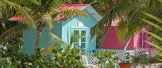 Colorful Buildings in the Dominican Republic