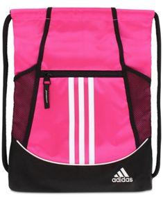 3b564ace15f3c adidas Alliance Ii Sackpack - Pink Cinch Bag, Pink Adidas, Adidas Fashion,  Women
