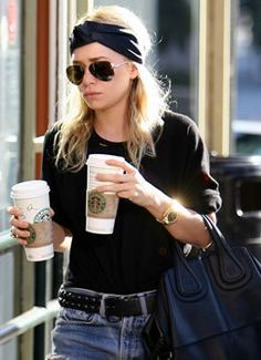 Celebrity diet: Ashley Olsen Starbucks