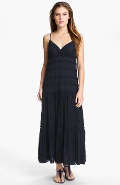 Eliza J Lace Inset Maxi Dress available at #Nordstrom