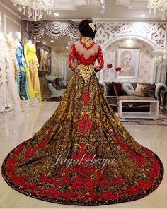 Wedding dress kebaya modern new design 2016 by jayakebaya.