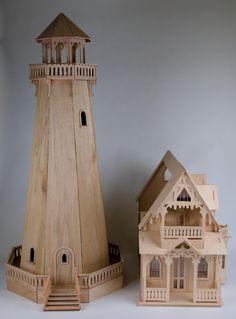 lighthouse dollhouse - Google Search