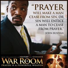 War Room: Kendrick Brothers Christian Movie/Film - Banner 7 ~ In Theaters August 28, 2015