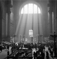 The old Penn Station.