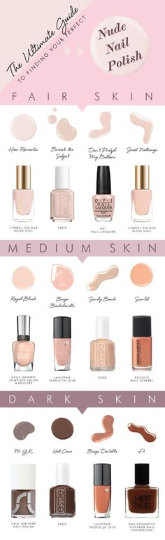 Nude Nail Polish #nailpolish http://greenteanails.com via makeup