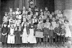 1890 photographs | Class of 1890 Carnegie 1st Ward School Miss Macklehern, teacher