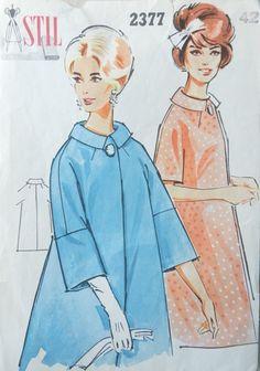 Stil 2377. Coat pattern. Coat Patterns, Sewing Patterns, Disney Characters, Fictional Characters, Disney Princess, Retro, Vintage, Vintage Comics, Patron De Couture
