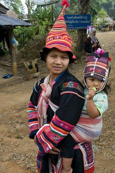 Hill Tribe Hats, Thailand