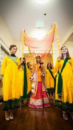 Mayoon Muslim Wedding 19