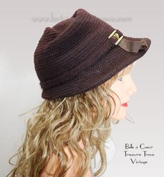 Vintage 1950s Hat An Everitt Needlepoint by bctreasuretrove, $32.00