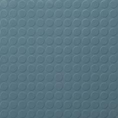 ColourScape Round Rubber Tile - Round - Niagara Blue 916