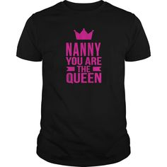 Best Nanny You Are The Qeen-front-1 Shirt