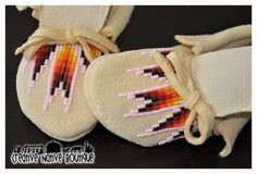Yes please, but for a 6 month old. Pink Beaded Moccasins size 3 by crystaltewa on Etsy, $45.00
