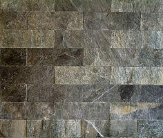 perete decorativ cuartzit silver grey