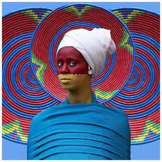 14 Mind-Blowing Images From Aida Muluneh's Solo Exhibition - OkayAfrica Body Painting Pictures, Body Paintings, Fondation Vuitton, Festival Photo, Mind Blowing Images, Belly Painting, Expositions, African Culture, Art Fair