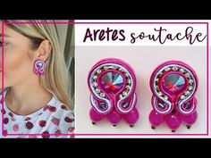 Shibori, Brooches, Earrings, Youtube, Jewelry, Small Earrings, Necklaces, Soutache Jewelry, Furniture