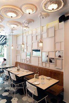 Ideas para decoración de una cafetería. http://ideasparadecoracion.com/ideas-para-decoracion-de-una-cafeteria/