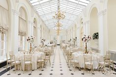 Blenheim Palace - Wedding Venue in Woodstock, Oxfordshire, South East England, England.