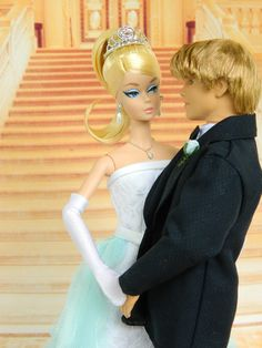 I Do! ~OOAK Bridal Fashion for Silkstone Barbie & Ken
