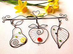 Vešiak s ovocím by astra - SAShE.sk - Handmade Dekorácie