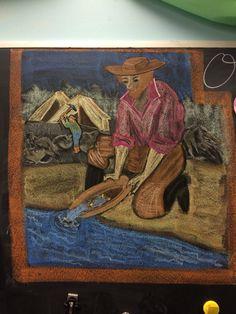 Gold Rush grade Circle of Seasons Charter School Chalkboard Drawings, Chalk Drawings, 5th Grade Geography, Gold Miners, 4th Grade Social Studies, California History, Fifth Grade, Gold Rush, 5th Grades