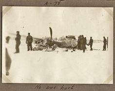 "1945 - A-78 Belgium - Plane Crash - ""No One Hurt"" Belgium, Wwii, Air Force, Plane, Painting, Group, Art, Art Background, World War Ii"