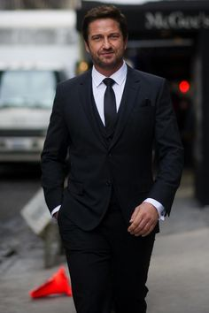 Gerard Butler - The New Face for Hugo Boss
