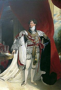 George IV (1762–1830), Standing, in Garter Robes, 'Coronation Portrait'  by Thomas Lawrence  (studio of)