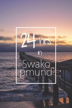 24 hrs in Swakopmund - Namibia's coastal city - and it's not just about adventure sports