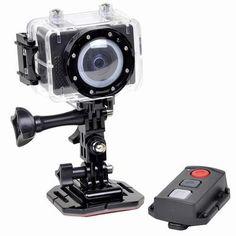 SPORT CAMERA - Astak Actionpro Cm-7200 5mp 1080p Hd Sports Action Waterproof Digital Camera/camcorder W/mini-hdmi & Microsd Slot from Astak $139.91