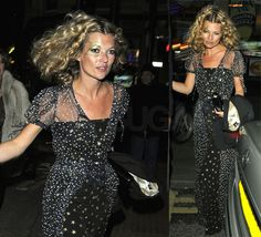 Kate Moss birthday party