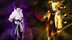 naruto and sasuke six paths | naruto uzumaki sage of six path and uchiha sasuke rinnegan / sharingan ...