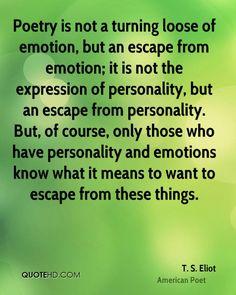 - T. S. Eliot