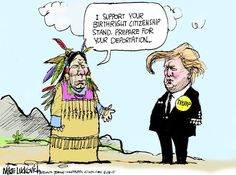This is true for everyone in the U.S. that isn't indigenous.