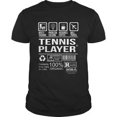 TENNIS-PLAYER, Order HERE ==> https://www.sunfrog.com/LifeStyle/TENNIS-PLAYER-157254385-Black-Guys.html?53624 #xmasgifts #christmasgifts #birthdayparty #birthdaygifts