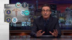 Refugee Crisis: Last Week Tonight with John Oliver (HBO) Depressingly apt again today: Our 2015 story about refugees.